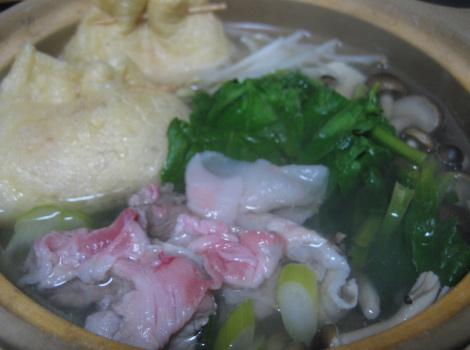 鍋の簡単レシピ・常夜鍋