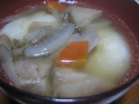 我が家の簡単お雑煮レシピ