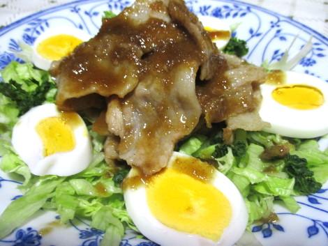 豚のピリ辛生姜焼き