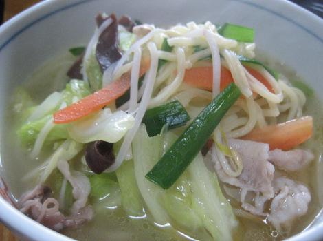 中華麺の簡単レシピ・さっぱりタンメン