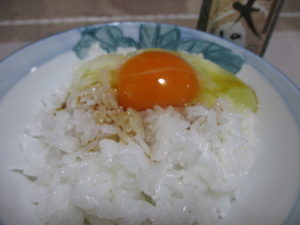 天美卵の卵かけごはん
