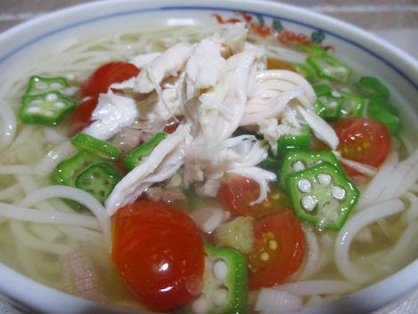 半田そうめんの簡単レシピ・冷やし和え麺
