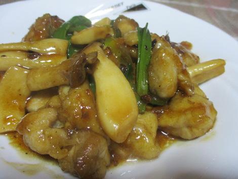 鶏の花椒炒め