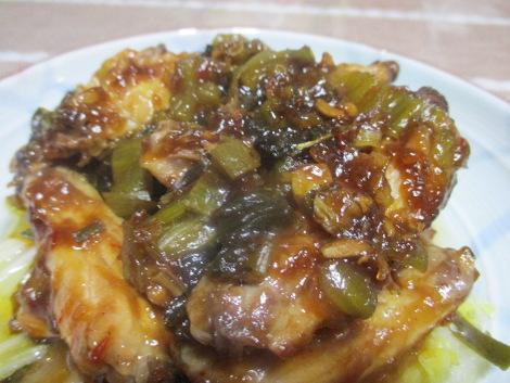 手羽と白菜の中華蒸し