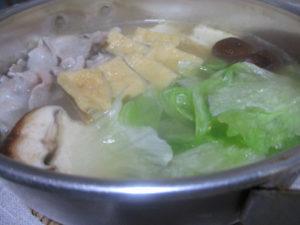 豚しゃぶレタス鍋